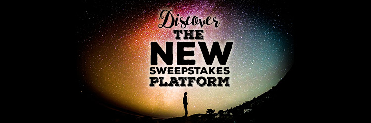 Discover the new sweepstakes platform