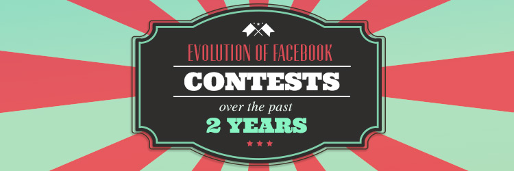 Evolution of facebook contests over the past 2 years