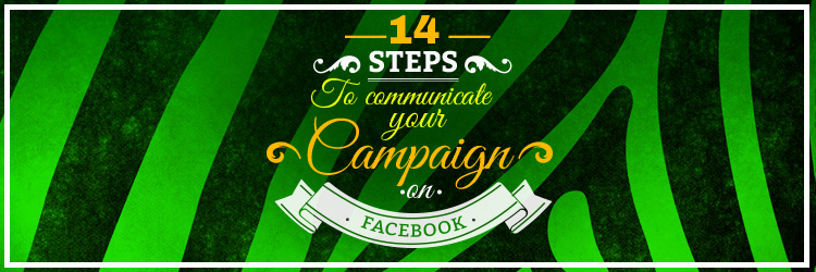 How to disseminate and highlight a campaign on Facebook