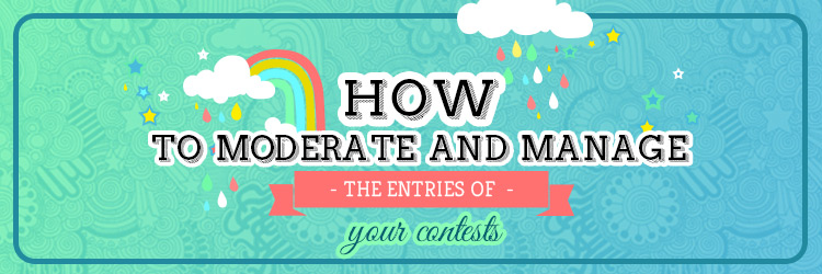 How to moderate photo and video contests