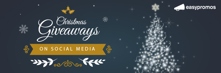 Christmas giveaways on social media