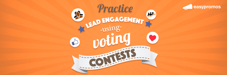 lead engagement voting contest