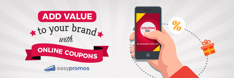 High value online coupons
