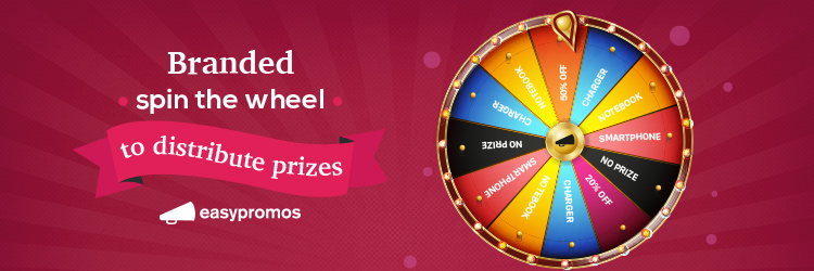 How to create a branded prize wheel