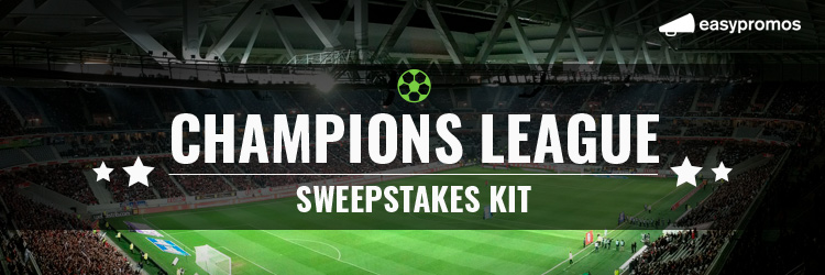Champions League sweepstake kit
