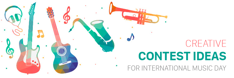 Creative contest ideas for International Music Day