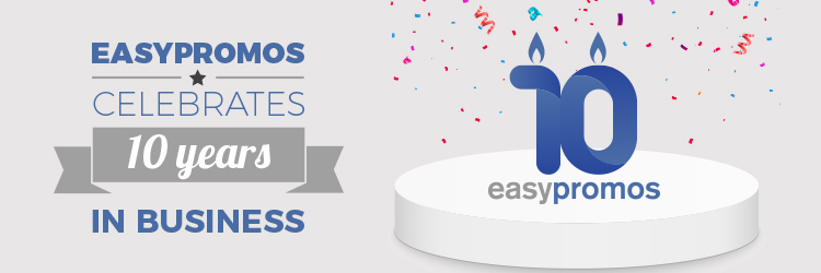 Easypromos 10 years in business