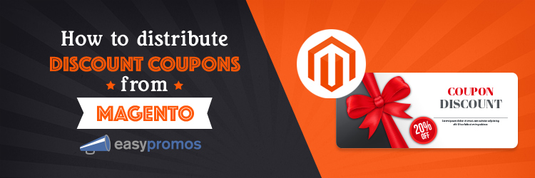 Distribute Discount Coupons From Magento