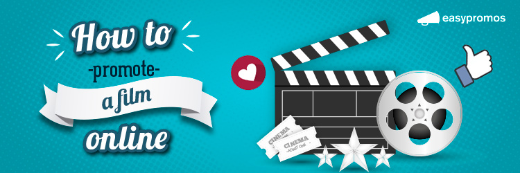 how to promote a film online