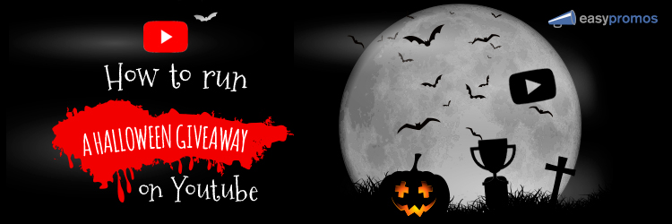 Halloween giveaway on YouTube