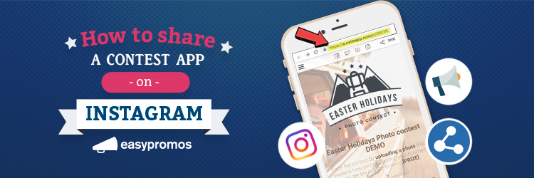 How to share a contest on Instagram