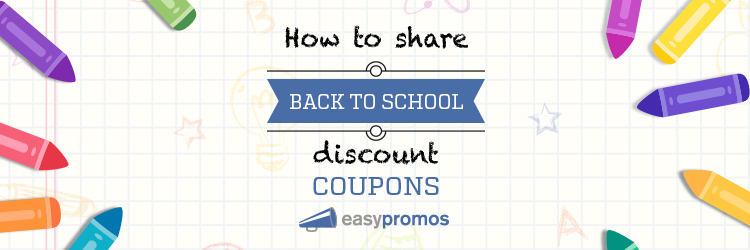 Back to School discount coupons