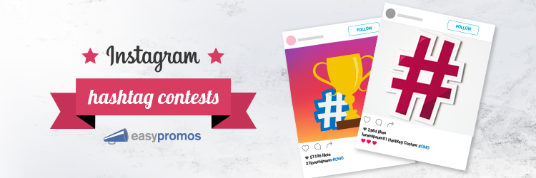 Instagram hashtag contests