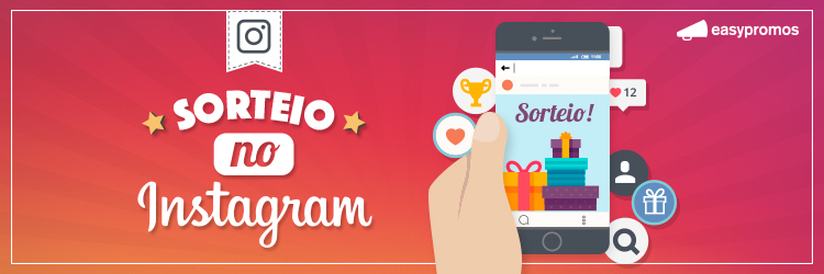 concursos no Instagram