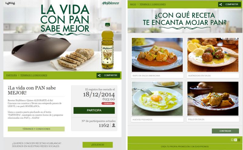 olive oil promotion
