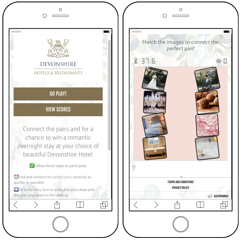 hotel tourism match it game