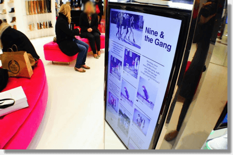 User-generated content for retail marketing
