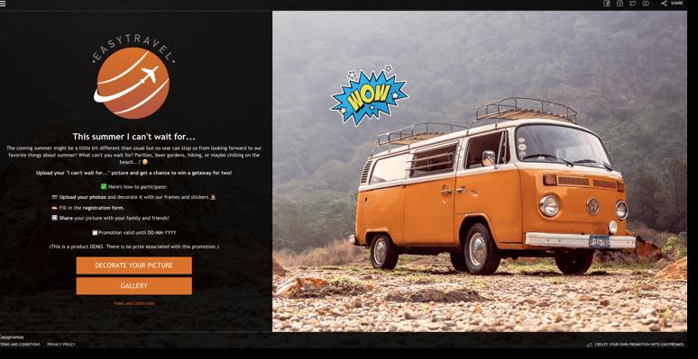 summer marketing campaign photofun