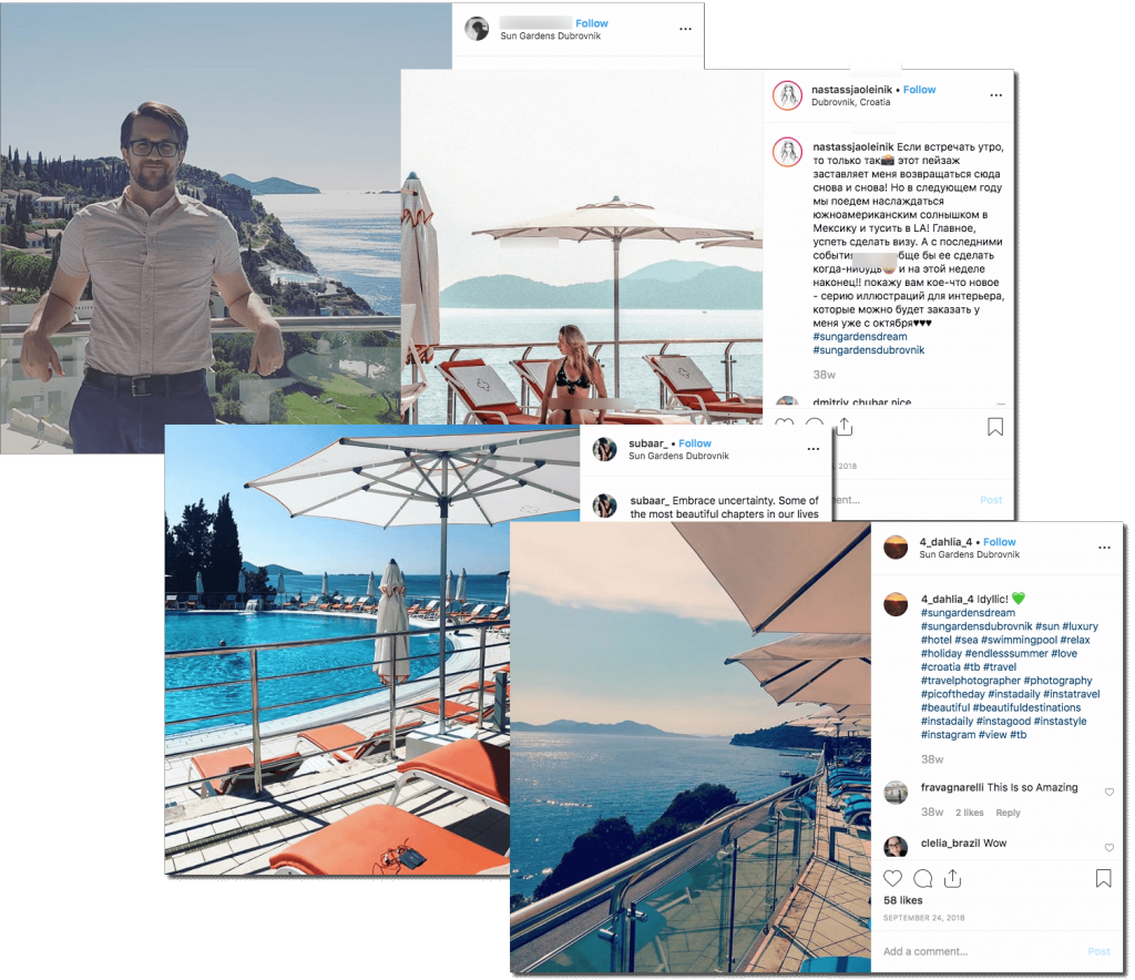 Instagram posts in the summer mention and hashtag contest