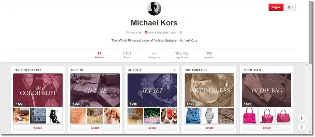 promote your Fashion brand Michael Kors