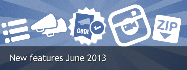 Easypromos new features June 2013