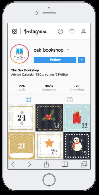 Advent Calendar on Instagram