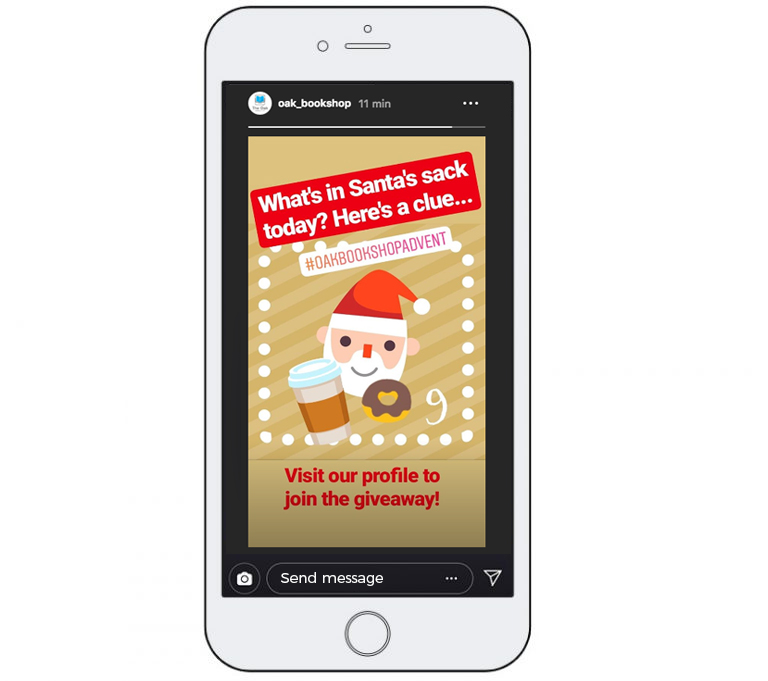 Advent Calendar on Instagram Stories