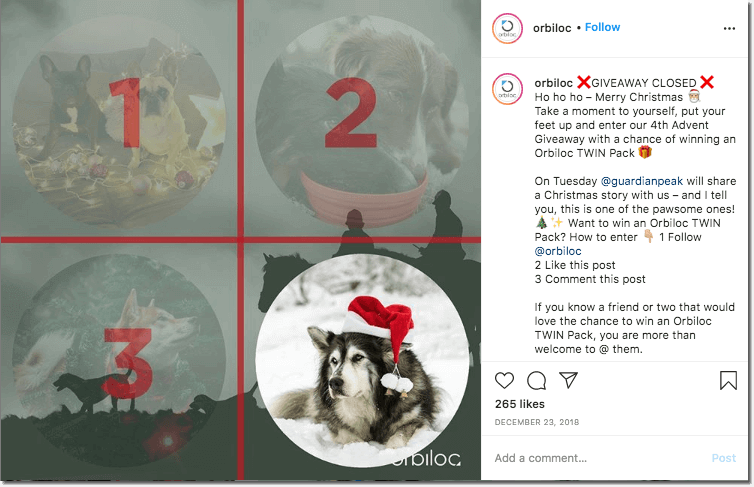 Instagram Advent Calendar