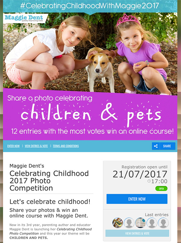 photo contest pets