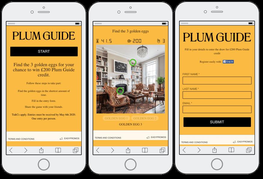 Tourism marketing, Plum Guide game