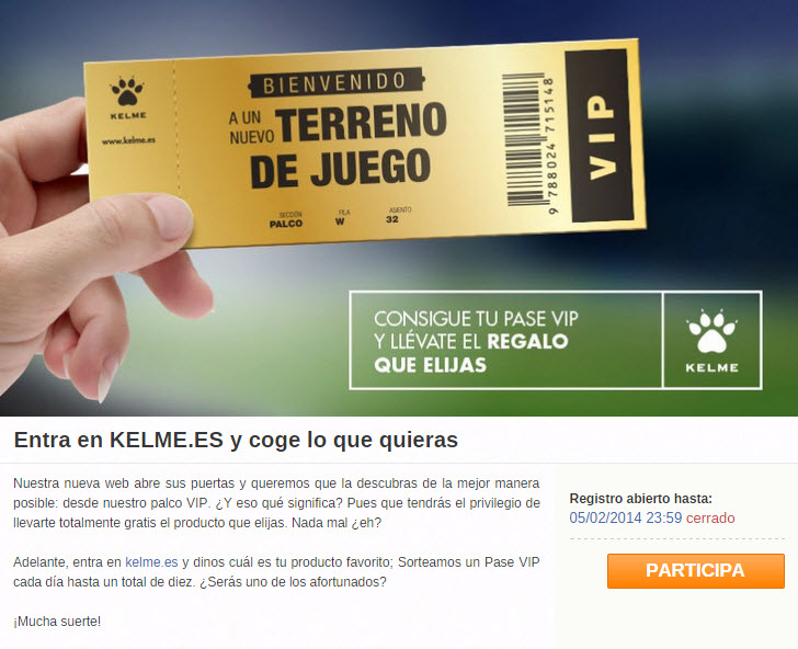 How to promote the launch of your new website: the Kelme