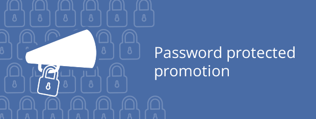 password protected contest