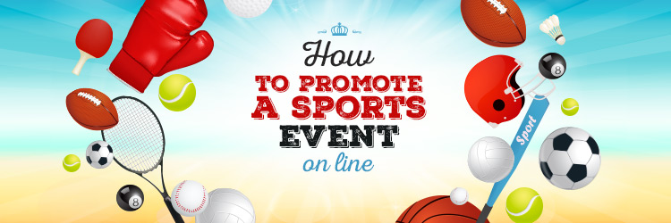 promote a sporting event via Facebook
