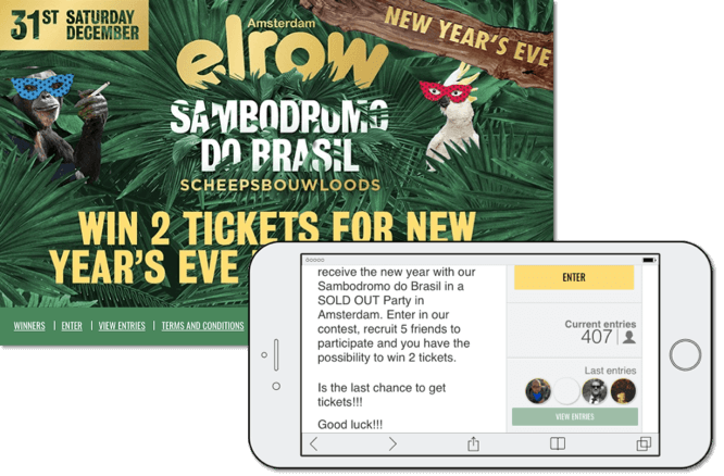 new year's eve promotion ideas