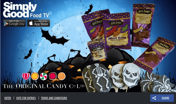 Halloween promotions on Facebook recruiters