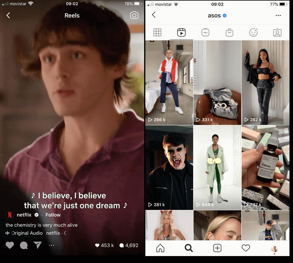 tendințe de marketing digital 2021: videoclipuri scurte, cum ar fi role, tiktok și povești legate de link.