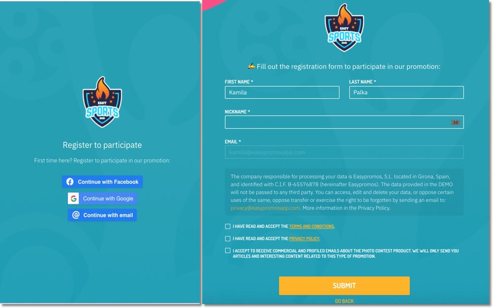 eufa euro tournament bracket registration form