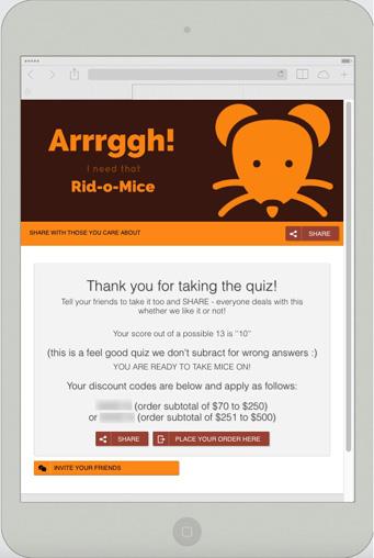 Rid o mice promotion