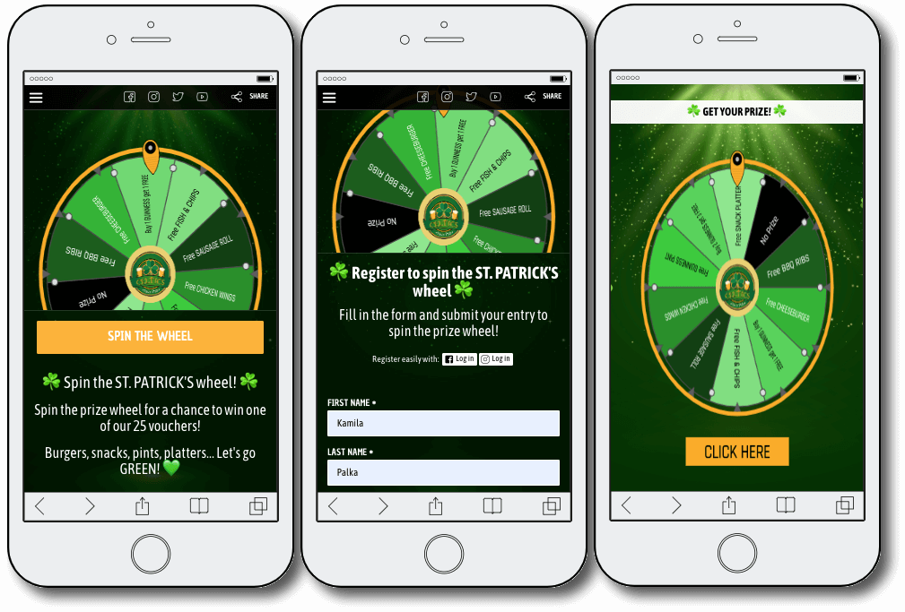 spin the wheel go-to-marekt strategy