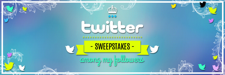 sweepstakes among my followers Twitter H