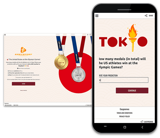 olympic games promotion idea