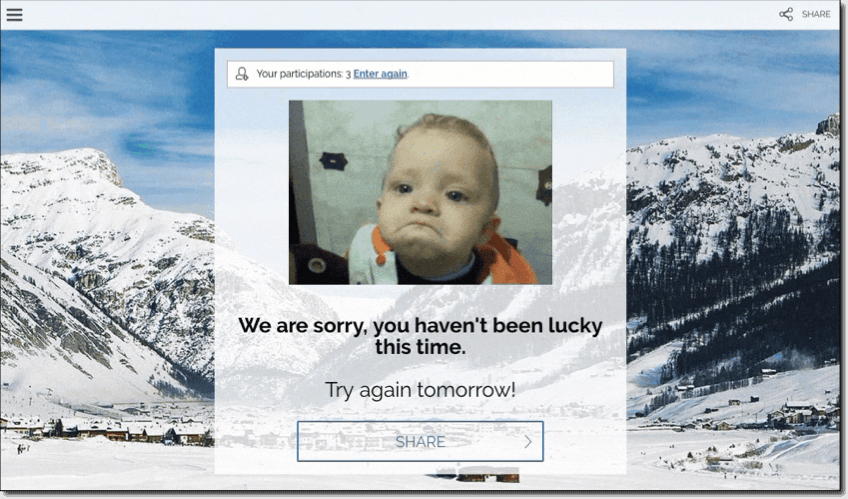 than you page with gif