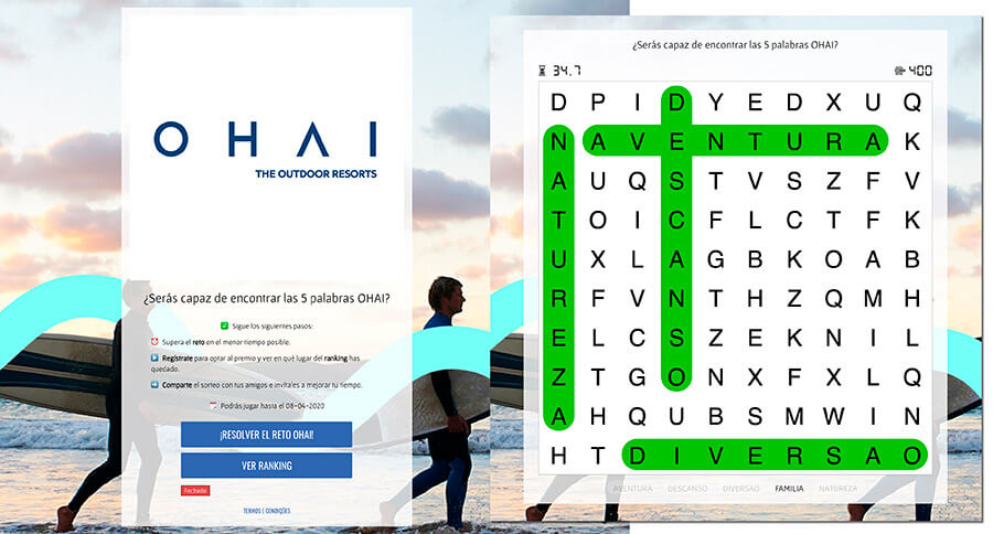 word search hotel game