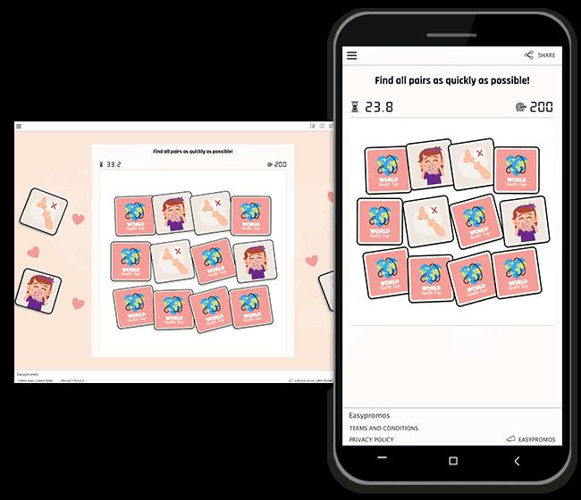 World health memory game