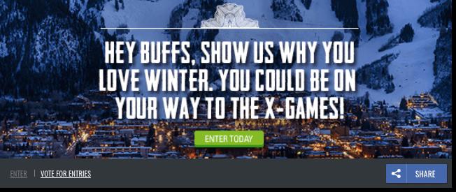 winter xgams promotion