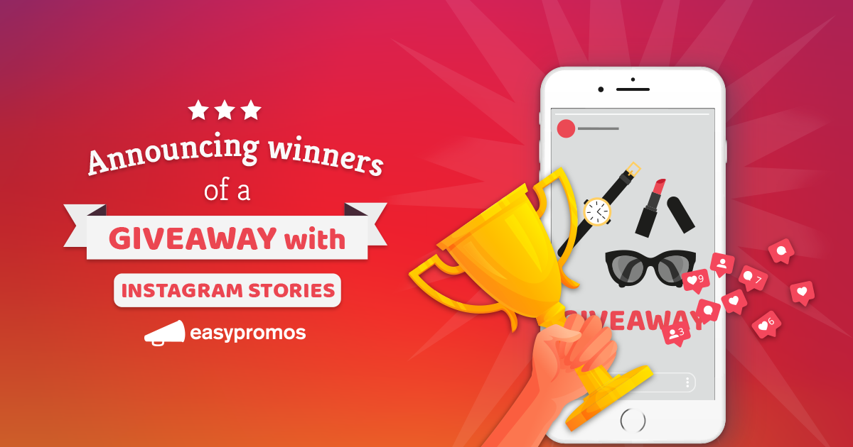 How to announce winners of a giveaway with Instagram Stories
