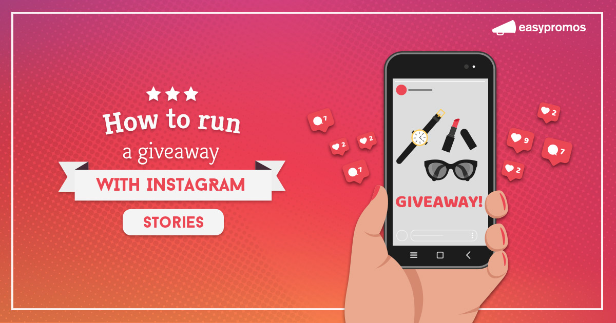 giveaway instagram story