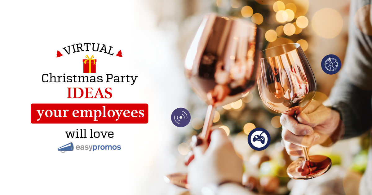 Virtual Christmas Party And Holiday Event Ideas Your Employees Will Love Easypromos