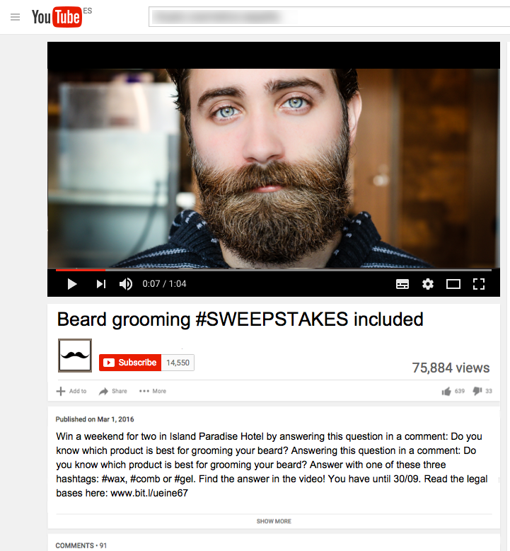 youtube-comments-sweepstakes