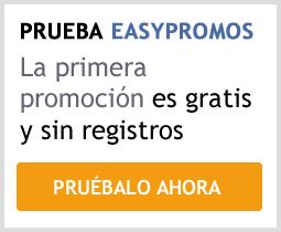 Prueba Easypromos ahora y gratis
